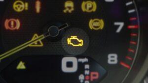 Знаки на панели приборов в машине