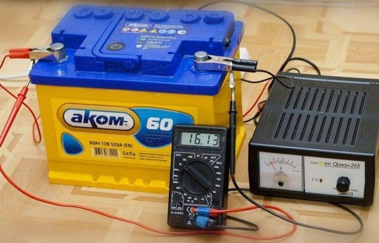 Как понять, что акб зарядился зарядным устройством